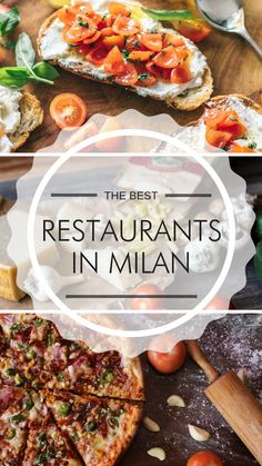 Planned a citytrip to Milan? Find out the best restaurants in this beautiful Italian city!  #Milan #Italy #Bestrestaurants #Citytrip #Travel #Holiday #Food #Traveltips
