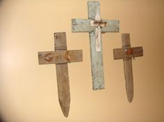 """I want these, but with """"faith"""" """"hope"""" """"love"""" on the crosses"""