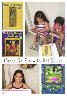 Interview with Author Amy Guglielmo featuring the Touch the Art Books