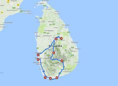 Plannen om een reis door Sri Lanka te maken? In deze blog geef ik je een leuke reisroute: een uitgebalanceerde mix van cultuur, natuur, bergen en strand.