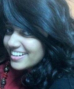 All smiles from Anushree, the Venusian Kettchupian!