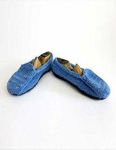 Malabrigo Loafers pattern by Julie Weisenberger