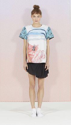 High Seas T-shirt - alice McCALL