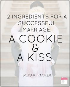 2 INGREDIENTS FOR A SUCCESSFUL MARRIAGE