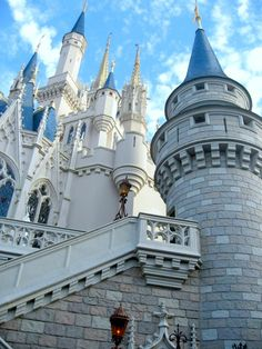 Cinderella's Castle Walt Disney World