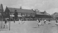 Hockey at the old Wanderers early 1900s (With acknowledgement to Friedel Hansen)