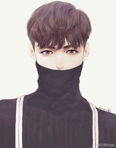 "Fanart- Lay EXO photoshoot for new album ""Call Me Baby"" Exo Anime, Anime Guys, Yixing Exo, Exo Fan Art, Bts And Exo, Dream Art, Kpop Fanart, K Idols, Pretty Boys"