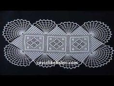 Zincir İşi Dantel Modeli : Hand Embroidery Lace Patterns - YouTube
