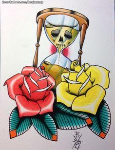 Diseño hecho por Borja Campoamor, de Guadalajara (España). Si quieres ponerte en contacto con él para un diseño o tatuaje visita su perfil: http://www.zonatattoos.com/borjacamp  #tatuajes #tattoos #diseños