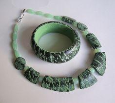 Necklace and Bracelet.   por Beads from the Coast
