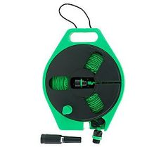 HydroHose 40 Compact Watering Hose with Spray Nozzle & Reel