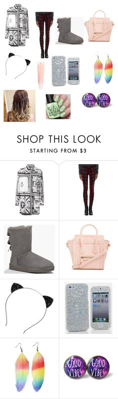 """""""Ashlyn's Outfit"""" by thesarcasticcritic ❤ liked on Polyvore featuring rag & bone, UGG Australia, DailyLook, CO and J.Crew"""