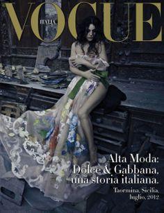dolce & gabbana, una storia italiana: by paolo roversi for vogue italia september 2012