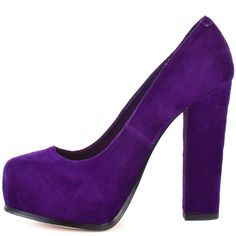Steve Madden Women's Sarrina – Purple Suede are a perfect match for me! #sexy shoes
