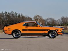 1970 Ford Mustang Mach 1 Super Cobra Jet Twister Special