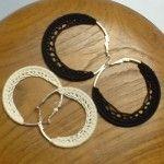 Lacy Hoop Earrings