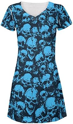 Exotic Blue Gold Macaw All Over Juniors Cover-Up Beach Dress