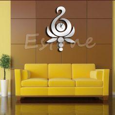 Moderno-Antorcha-Espejo-Estilo-extraible-de-vinilo-de-Reloj-de-pared-calcomania-3d-Home-Decor
