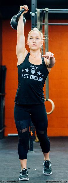 49d1afe84a74f Kettlebellion - Black - Women s Triblend Racerback Tank Top