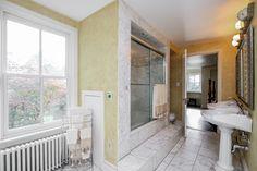 Historic John D. Berry House c.1866 - Master Bathroom