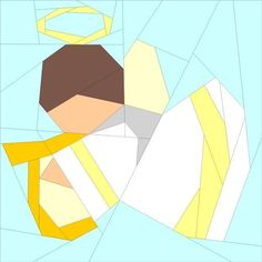 (7) Name: 'Quilting : Angel 6'
