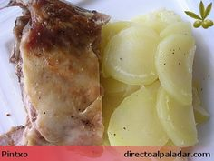 Receta de patatas panadera