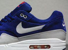 huge discount 315d6 c1830 Nike Air Max 1 Premium - Deep Royal - Granite - SneakerNews.com