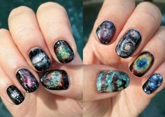 "Amazing Messier object nails by Kristen Fredriksen: ""Galaxies, nebulae, and star clusters in Charles Messier's catalog! Left to right: M13- globular cluster; M17- Swan (or Omega) Nebula; M104- Sombrero Galaxy; M27- Dumbbell Nebula; M1- Crab Nebula. M16- the Pillars of Creation region of the Eagle Nebula; M42- Orion Nebula; M51- Whirlpool Galaxy; M57- Ring Nebula; M45- the Pleiades."""