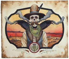 Derek Nobbs, Paintings. Recent work by excellent Seattle artist Derek Nobbs (Previously on Supersonic): [[MORE]] Derek Nobbs: Website Squalor Harbor