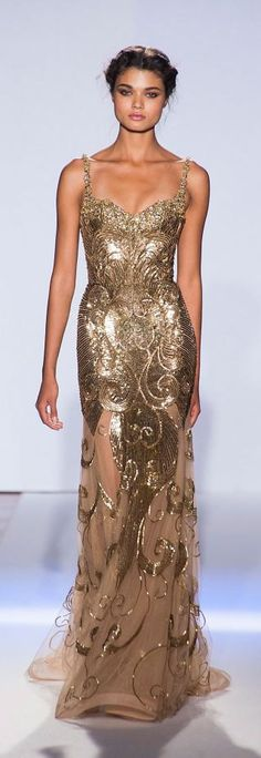 Zuhair Murad -  another beautiful dress - another miserable looking model