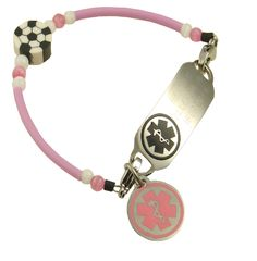 Mia Soccer Bracelet : Stylish Medical ID, Style you can depend on .  Please visit us at www.stylishmedicalid.com to see this and more.