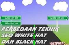 Perbedaan Teknik SEO White Hat dan Black Hat Antara, Seo, Hats, Black, Hat, Black People, Hipster Hat