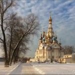 Church of Our Lady (Znamenskaya) in Dubrovitsy · Russia Travel Blog Russian Architecture, Unique Architecture, Sky Images, Church Of Our Lady, National Geographic Photos, Landscape Photos, Amazing Photography, Barcelona Cathedral, Statue Of Liberty