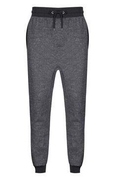 Primark - Pantalón de chándal gris jaspeado
