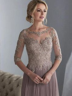 DressilyMe Bridal Dresses Online,Wedding Dresses Ball Gown, exquisite tulle chiffon scooneckline floor length a line mother of the bride dresses with beaded lace appliques Mob Dresses, Ball Dresses, Ball Gowns, Evening Dresses, Bridesmaid Dresses, Wedding Dresses, Party Dresses, Halter Dresses, Tunic Dresses