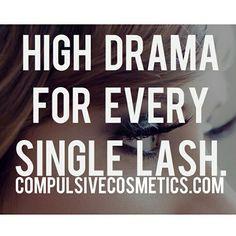 Get dramatic @ compulsivecosmetics.com  #drama #dramatic #lashes #cosmetics #makeup #eyes #eyelashes #eyeshadow
