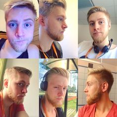 My beardjourney from The start to The longest I've had (trimmed). I have it shorter today but i'm thinking of reseting and shave it all off and begin again  #beardjourney #beard #beards #beardseason #beardgrowth #blondebeard #blondebeard #fun #beforeandafter #vikingbeard #viking #sweden by jonas_knutson