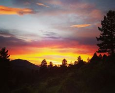 Another awesome Rocky Mountain sunset, v.3, what a great view!