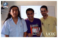 Alumnos de Diseño Gráfico, disfrutan conferencia ¨HISTORIETAS Y DISEÑO¨ con el LDG. Alfredo Tierrablanca Nieto