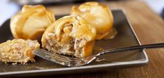 These caramel apple cinnamon rolls are not only good for any time of the day, but they are shockingly simple to make. You can have them on t...