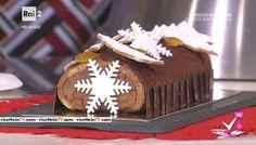 """""""Detto Fatto"""": la ricetta del buche de Noel (tronchetto di Natale) di Michel Paquier del 7 dicembre 2016."""