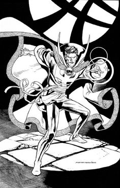 Marvel Comics of the 1980s: Anatomy of a Commission - Doctor Strange by Kevin Nowlan