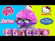 Play Doh Eggs Surprise Blind Box Unboxing Toys MLP Disney Vinylmation Kidrobot Playdough Videos - YouTube