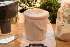 Sourdough Rye Starter - Made in the Swedish Style - Lost in a Pot Rye Sourdough Starter, Sourdough Rye Bread, Rye Bread Recipes, Sourdough Recipes, Fermented Bread, Russian Vodka, Rye Flour, Dried Figs, Eat The Rainbow