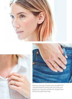 J.CREW blog Caroline Ventura of BRVTVS, Jewelries that she creates
