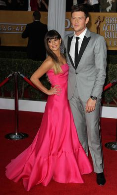 My heart breaks for Lea Michele ... she lost the love of her life and they were so in love on screen and off.