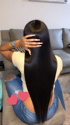 Baddie Hairstyles, Black Girls Hairstyles, Weave Hairstyles, Pretty Hairstyles, Straight Hairstyles, Curly Hair Styles, Natural Hair Styles, Shotting Photo, Hair Laid