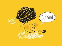 I Am Squeak | Herring & Haggis #illustration