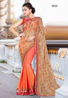 Indian ethnic bollywood designer saree party wear pakistani wedding sari blouse #designer #SariSaree