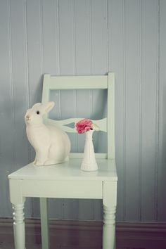 Ralfefarfars paradis: Barnerom: Ny lampe. Rabbit lamp